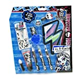 markwins 9432810 Monster High Makeup Set Volta geous, 1er Pack (esmalte de uñas, brillo de labios, Kajal y como especial Highlight una strähnchen de Mascara)