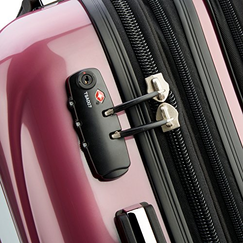 DELSEY Paris Large Carry-on, Peony Pink