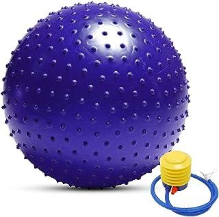 Anti-Burst Yoga Ball Thickened Stability Balance Ball Pilates Physical Fitness Exercise Ball 55CM / 65CM / 75CM Gift Air Pump