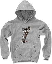 500 LEVEL Ozzie Smith St. Louis Baseball Kids Hoodie - Ozzie Smith Sketch Backflip