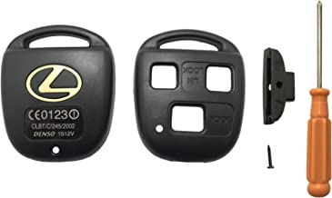 Key Shell Silicone Case for Lexus HYQ12BBT Mikkuppa Rubber Key Fob Cover Protective Compatible for Lexus HYQ1512V