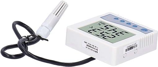 El sensor electrónico del transmisor de temperatura y humedad Eujgoov que tiene un zumbador incorporado es duradero y tiene una pantalla LCD de baja tasa de fallas con sonda(RS-485)
