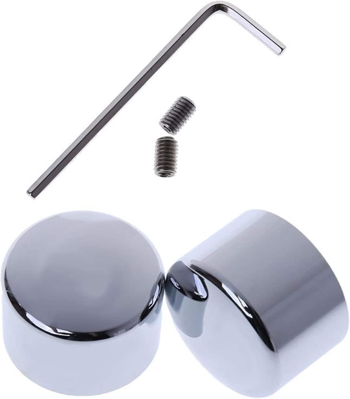 YBMY Front Axle Nut Large-scale sale Cover Cap Touring for Bolt Outlet ☆ Free Shipping Fit Harley Softai