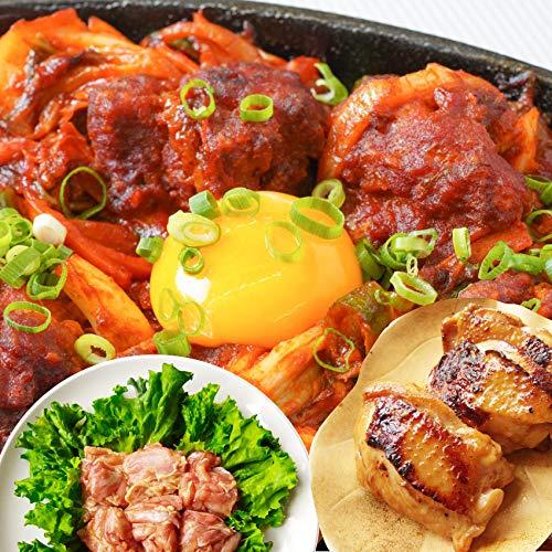 ジューシー鶏もも焼肉・漬け3種食べ比べセット(チーズダッカルビ・照り焼き・塩麹) 3kg (500g×6) 《*冷凍便》