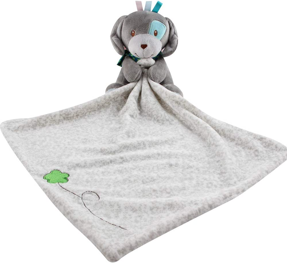 YChoice365 Baby Unisex Baby Animal Face Security Blanket Loveys for Babies-Cute Animals
