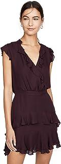 Parker Women's Tangia Flutter Sleeve Short Dress