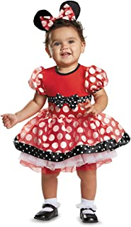 Disguise Baby Girls' Red Minnie Prestige Infant Costume