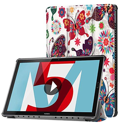 Lobwerk Funda para Huawei MediaPad M510.8Pulgadas Funda Tablet Smart Cover con Auto Sleep/Wake, función Atril y lápiz Capacitivo C3