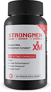 Strongmen Increase Strength & Energy, Virility, Vitality, Vigor - Improve Testosterone Levels