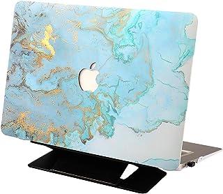 جراب لجهاز MacBook Air 13/13.3 رفيع للغاية مغطى بالمطاط وغطاء واقي لجهاز Apple 13 بوصة/13.3 بوصة MacBook Air طراز A1369/A1...