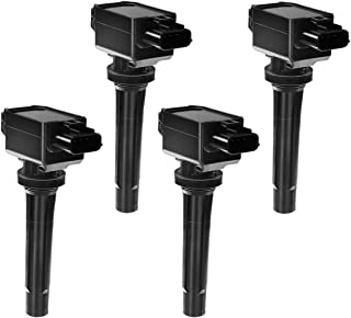 Paquete de bobinas de encendido de motor A-Premium compatibles con Mazda 3 2014-2018 6 2014-2018 MX-5 Miata 2016-2018 CX-3...