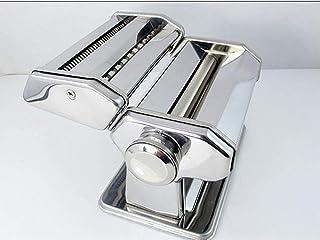 Picknickväska Noodle Manual Pasta Maker Machine Cutter Roller Rostfritt stål Färska pasta Maskiner med 2 skärblad och 6 de...