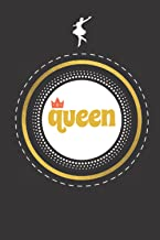 """Queen: Journal Notebook - Queen Journal Diary Notebook for women and gils 120 Pages,6"""" x 9"""" (15 x 23 cm), Durable Soft Cov..."""