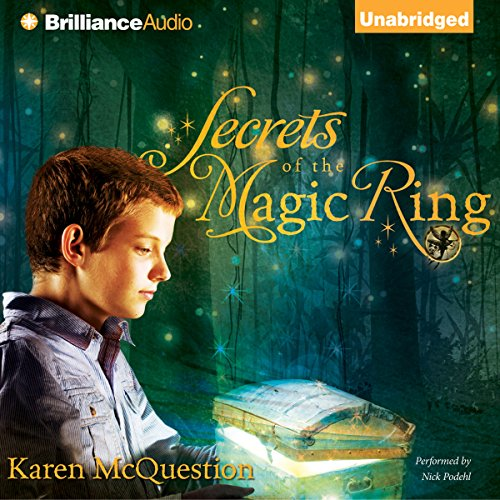 Page de couverture de Secrets of the Magic Ring