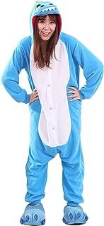 Apiidoo Unisex Halloween Pajamas Costumes Anime One Piece Cosplay Animal Pyjamas