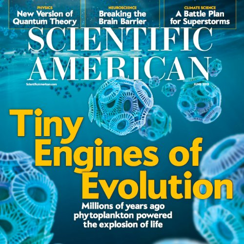 Scientific American, June 2013 audiobook cover art