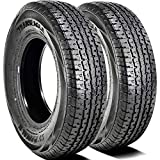 Set of 2 (TWO) Transeagle ST Radial II Steel Belted Premium Trailer Radial Tires-ST175/80R13 97/93L LRD 8-Ply