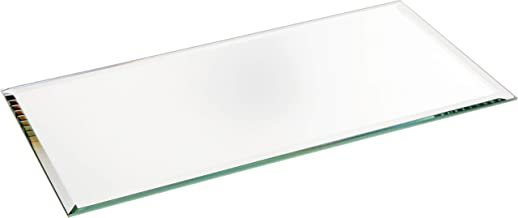 Plymor Rectangle 3mm Beveled Glass Mirror, 4 inch x 8 inch