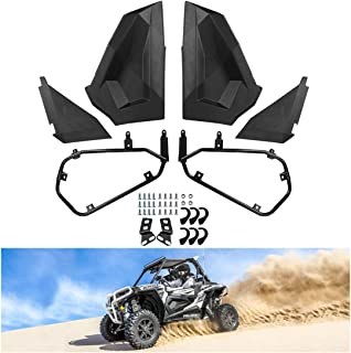 KIWI MASTER Lower Half Door Inserts Panels Compatible for 2014-2019 Polaris RZR XP 1000 900 S Turbo EPS 2 Door (Not Fit 50 inch Model) Black 2879509
