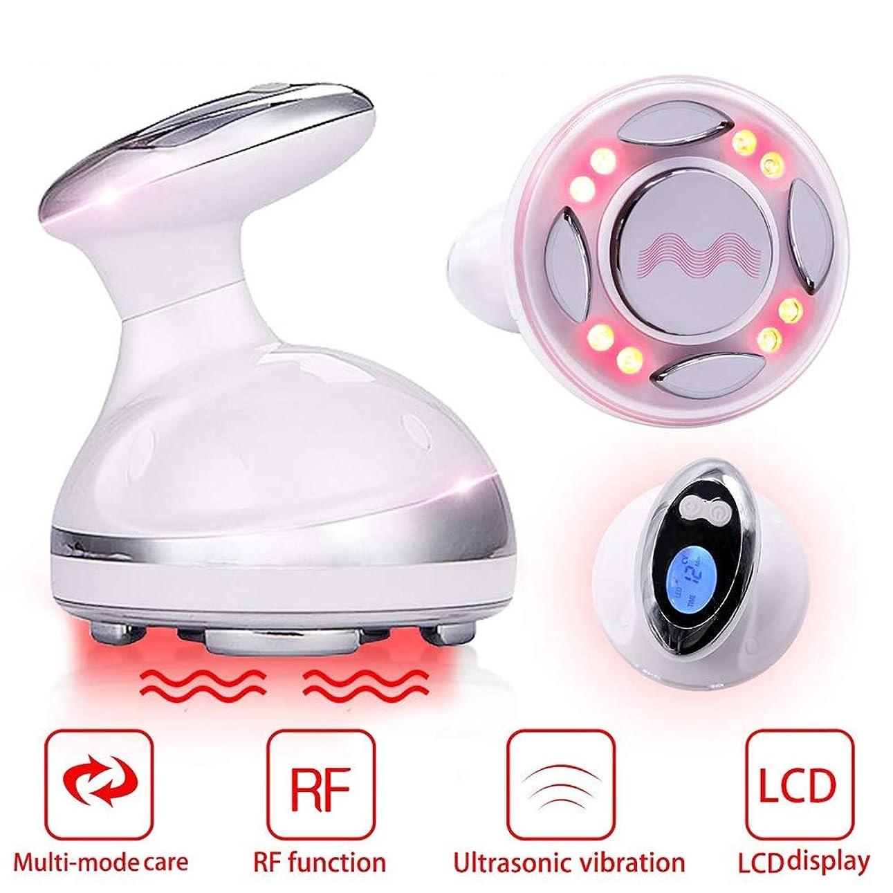 記憶素朴な波1に付きボディ形成のマッサージャー、脂肪除去機械、RFの振動機械赤いライトボディ形成装置、減量機械ポータブル、家庭用スマートLCDディスプレイ