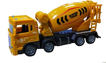 Amisha Gift Gallery® Pull Back Super Power Concrete Cement Mixer Truck Toy for Kids