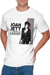 OLIVIA HARPER Mens Particular Joan Jett & The Blackhearts T Shirt White