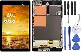 交換するのが面倒 ASUSネクサスフレームとパッド7第二ME572 ME572C ME572CL LCDディスプレイおよびデジタイザアセンブリ全体(ブラック) (Color : Black)