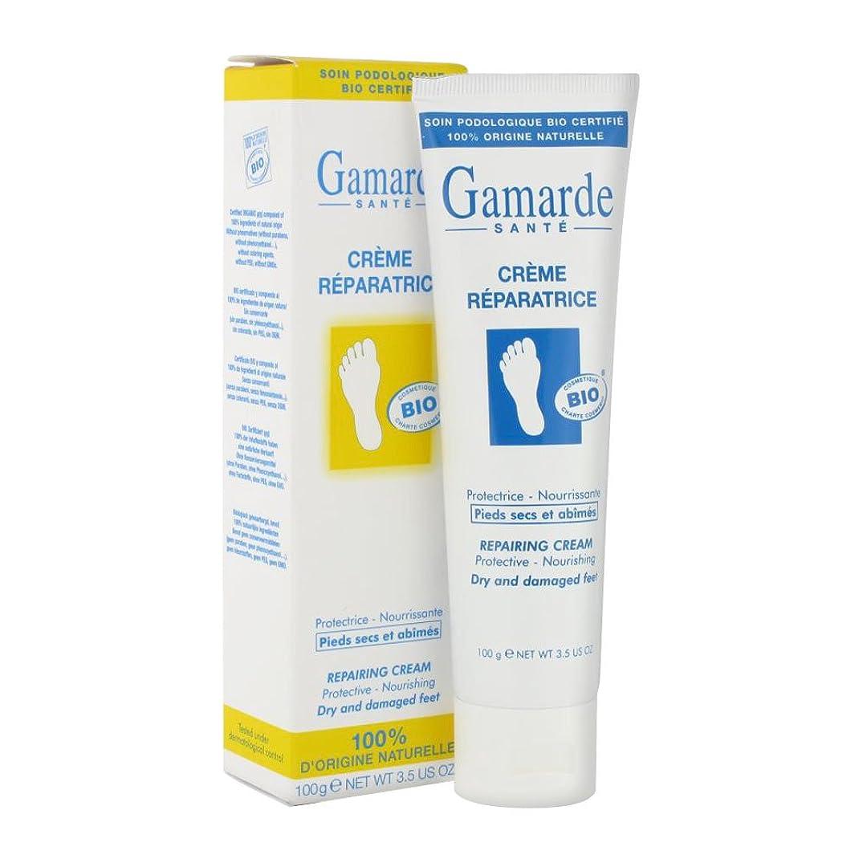 絶壁体系的に変えるGamARde クレーム レパラトリス 100g (フットクリーム)