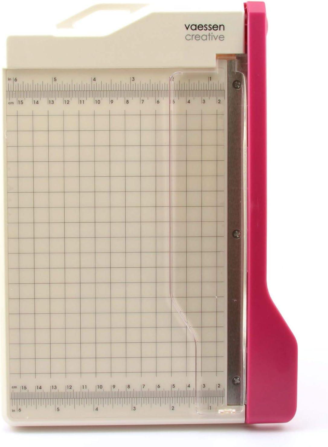 Washington Mall Vaessen Creative Trim Easy Guillotine Max 60% OFF Cutter 8.5 6 x Tr inches