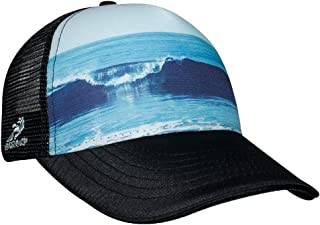 Vitamin Sea 5 Panel Trucker Hat, Black, One Size