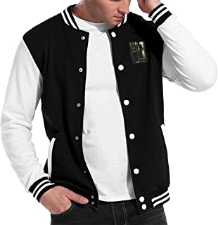UygysgZZ Korn Life is Peachy Men's Fashion Baseball Uniform Jacket Sport Coat