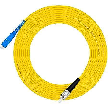 Cruiser Sc jersey de fibra /óptica Ftth individual-modo de fibra Cables Jumper de toma a 3 m