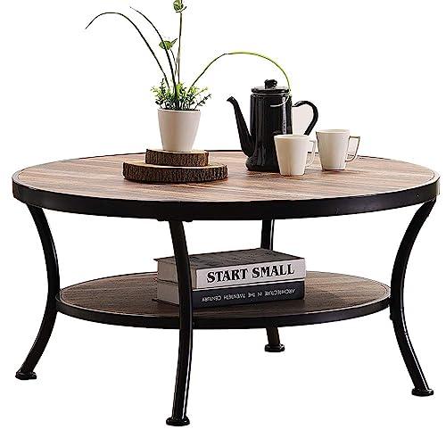 Large Round Coffee Table Amazon Com
