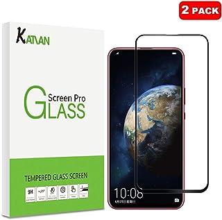 KATIAN [2-pack Huawei Honor Magic 2 skärmskydd, 2,5D hög definition 0,3 mm 9H hårdhet härdat glas skyddande filmskydd för ...
