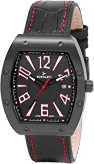TORNADO Men's Analog Black Dial Watch - T8017-BLBB