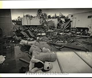Historic Images - 1979 Press Photo Devastation Caused by a Storm in St. Bernard, New Orleans