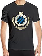 Men's Club Brugge Football Club Sport Quick Dry Short Sleeves T-Shirt
