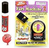 Prank Bundle #1. Remote Fart Machine, Fart Spray, and Whoopie Cushion