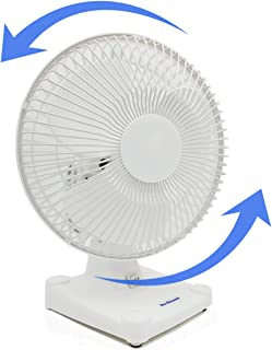 oval oscillating fan