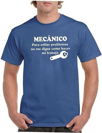 Parent: Camisetas divertidas mecanico, para evitar problemas no me digas como hacer mi trabajo - para hombre camiseta
