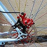 Kadimendium Adaptador de Cuadro Soporte de Montaje Pieza Soporte de modificación de Freno de Disco de Bicicleta para Deportes Escolares para Entretenimiento en el hogar(20)
