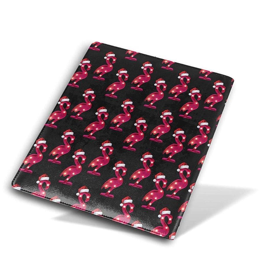 十代品揃え作業ユニセックス ブックカバー 文庫カバー かわいい漫画のプリント 教科書 学校用 Size 28*51 Cm 赤色 フラミンゴ