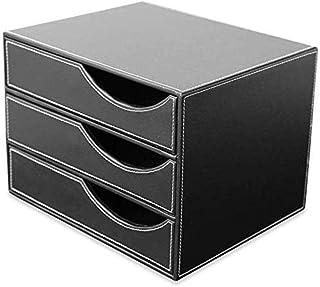 Armoires de bureau de type tiroir de bureau 3 couches A4 Cortex armoire de données Boîte de rangement de rangement pour la...