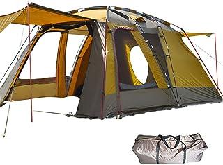 雑貨の国のアリス ツールームテント 2ルーム 防虫 通気性 耐水圧3000mm 収納袋付き 大型テント (ad135ベージュ) [並行輸入品]