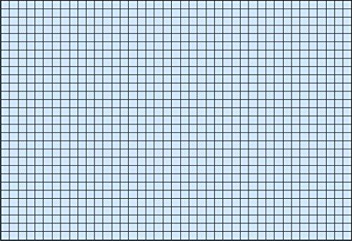 Baier & Schneider Karteikarten, Karteikarton, 180 g/qm, A4 quer, kariert, blau, eingeschweißt mit