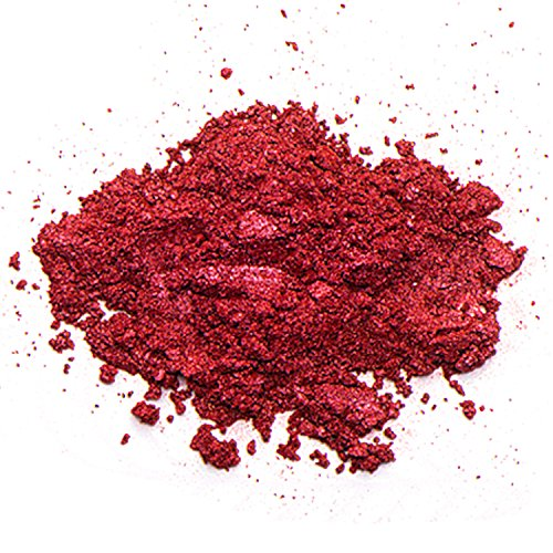 Mica Powder (CHERRY) 2 oz – Soap Making Kit – Powdered Pigments Set – Soap Making dye – Single Color - Hand Soap Making Supplies - Resin Dye - Mica Powder Organic for Soap Molds