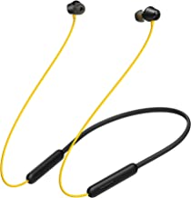 realme Buds Wireless 2 Neo Black in Ear Earphones with Type C Fast Charge 17 Hour Battery 11 2mm Bass Boost Driver Bluetooth v5 0 Magnetic Instant Connection