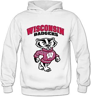 Geheimnis Gross Women's University Of Wisconsin Badgers 12 Hoodies Sweatshirt Size US White