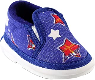 CHIU Boys and Girls Stars Printed Musical Slip-on in Blue Colour