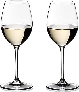 [正規品] RIEDEL リーデル 白ワイン グラス ペアセット ヴィノム ソーヴィニヨン・ブラン/デザート・ワイン 350ml 6416/33